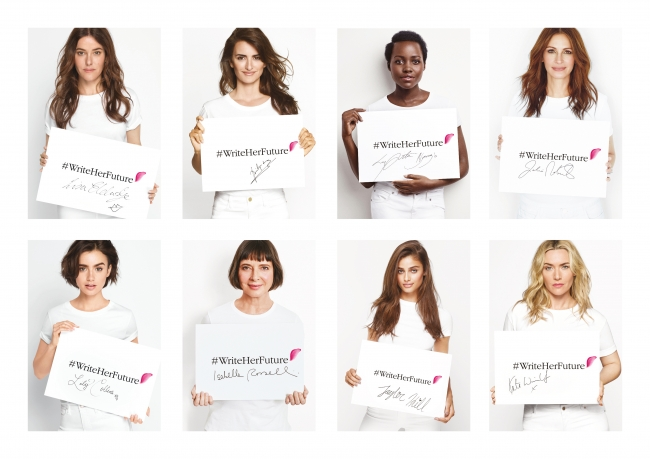 ★ランコムが世界の女性を支援 誰もが読み書きできる社会をめざして