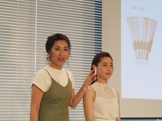 """★長井かおりさんが提案!2019年春は""""愛され白ピンク肌""""で!"""